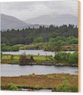 Lough Cloonee  Wood Print