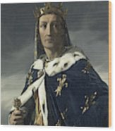 Louis Viii, King Of France Wood Print