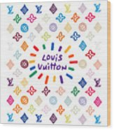 Louis Vuitton Monogram-10 Wood Print