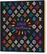 Louis Vuitton Monogram-11 Wood Print