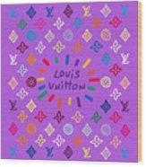 Louis Vuitton Monogram-8 Wood Print