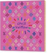 Louis Vuitton Monogram-9 Wood Print