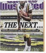 Louisiana State University Leonard Fournette Sports Illustrated Cover Wood Print