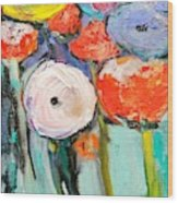Love Of Poppies Wood Print