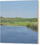 lower river Tweed near Horncliffe Wood Print