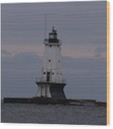 Ludington, Michigan Breakwater Lighthouse Wood Print