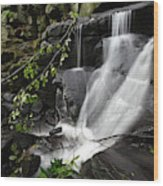 Lumsdale Falls 10.0  Wood Print