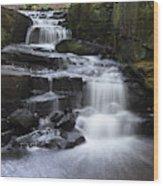 Lumsdale Falls 11.0 Wood Print