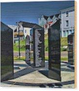 Lunenburg Fisherman Memorial Wood Print