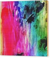 Luxe Splash  Wood Print