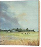 Lynden Farm, Wa Wood Print