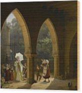Madame Élisabeth De France, Sister Wood Print