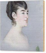 Mademoiselle Isabelle Lemonnier        Wood Print