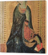 Madonna Of The Annunciation Wood Print