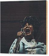 Mahalia Jackson In Concert Wood Print