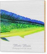 Mahi Mahi Wood Print