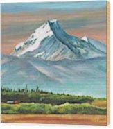 Majestic Mount Cook Wood Print