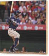 Major League Baseball Wood Print