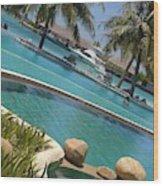 Maldivies Wood Print