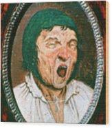Man Yawning, C1545-1569. Artist Pieter Wood Print