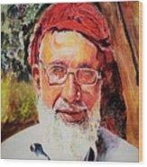 Manager Bashir Wood Print