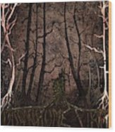 Many A Night Wood Print