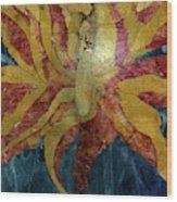 Marble Majesty Wood Print