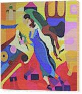 Marc And Bella Chagall Wood Print