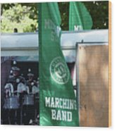 Marching Band Wood Print