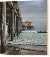 Mariasol On The Pier 2 Wood Print
