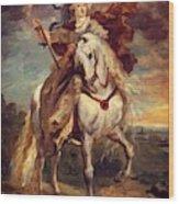 Marie De Medici At Pont De Ce Wood Print