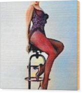 Marilyn Monroe, Portrait Wood Print