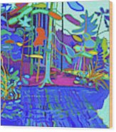 Massapoag Point Wood Print
