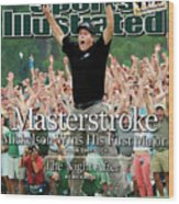 Masterstroke Mickelson Wins His First Major Sports Illustrated Cover Wood Print