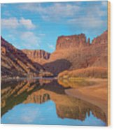 Mat Martin Point And The Colorado Wood Print