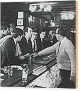 Mattachine Society Sip-in, 1966 Wood Print