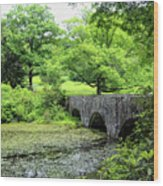 Maudslay State Park Wood Print