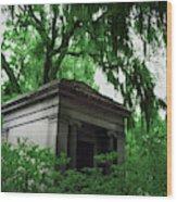 Mausoleum In Georgia IIi Wood Print