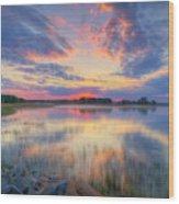 May 21, 05.06 Am Wood Print