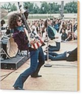 Mc 5 Live In Mount Clemens Wood Print