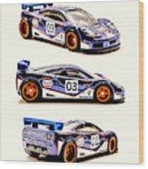Mclaren F1 Gtr Wood Print