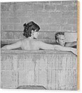Mcqueen & Adams In Sulphur Bath Wood Print