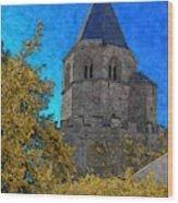 Medieval Bell Tower 3 Wood Print