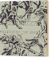 Melbourne Cup 1960 Wood Print