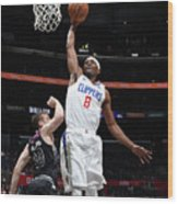 Melbourne United V Los Angeles Clippers Wood Print