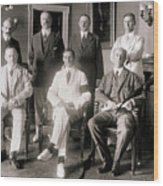 Members Of Federal Reserve Board Wood Print
