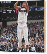 Memphis Grizzlies V Dallas Mavericks Wood Print