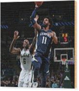 Memphis Grizzlies V Milwaukee Bucks Wood Print