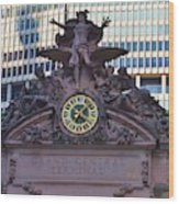 Mercury Above Grand Central Wood Print