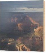 Mesmerized At Mather Point Wood Print